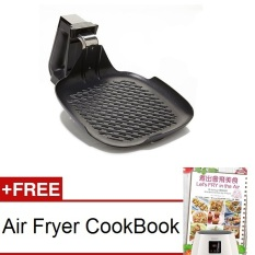 Discount Bundle Philips Hd9240 Air Fryer Grill Pan Free Cook Book Philips Singapore