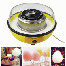 Cotton Candy Maker Machine Floss Commercial Carnival Party Fluffy Sugar Yellow - Intl By Audew.
