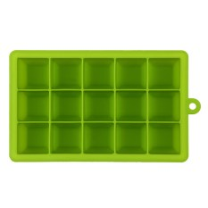 Creative Diy Big Silicone Ice Tray Mold Square Shape Green By Sportschannel
