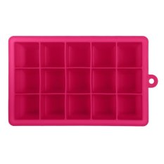 Creative Diy Big Silicone Ice Tray Mold Square Shape Rose Red By Sportschannel.