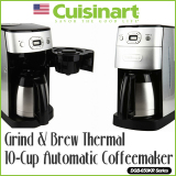Sale Cuisinart Dgb 650Kr Automatic All In One Coffee Maker Intl Cuisinart