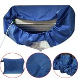 Sale Dark Blue Air Conditioner Cleaning Dust Washing Waterproof Cover Clean Protector Intl Oem Cheap