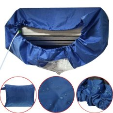 Compare Dark Blue Air Conditioner Cleaning Dust Washing Waterproof Cover Clean Protector Intl