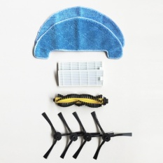 Dibea Gt100 Robotic Vacuum Cleaner Accessory Part Kit Hepa Filters Mop Roller Brush Side Brushes Intl Dibea Discount
