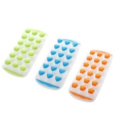 Easy Push Pop Out Ice Cube Tray Holder With Silicone Bottom Random Color By Vococal Shop.