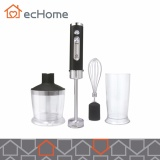 Sale Echome 3 In1 Dual Bottles Stainless Steel Speed High Speed Hand Blender Set Intl Echome Original