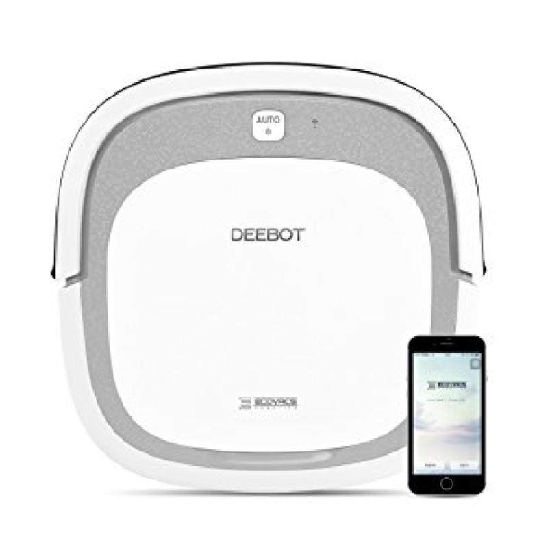 ECOVACS DEEBOT Slim2 Robotic Vacuum Cleaner for Bare Floors Only with Dry Mopping Feature Singapore