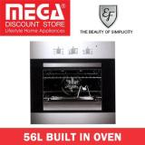 Ef Kitchen 56L Built In Multifunctional Oven Ae 62 Ef Cheap On Singapore