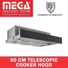 Sale Ef Kitchen 90Cm Telescopic Cooker Hood Efch 9402 Al Ef Branded