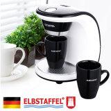 Elbstaffel Coffee Maker Bnb 450W 2Cups Gift Coffee Machine Coffee Pot Coffee Bean Drip Coffee Coffee Grinder For Sale Online