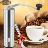 Buy Esogoal Manual Coffee Grinder With Hand Crank Conical Burr Mill For Precision Brewing Spice And Herbs Comes With Free Scoop Intl Esogoal Cheap