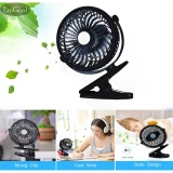 Best Rated Esogoal Rechargeable Quiet Operated Clip On Mini Desk Fan Black Intl