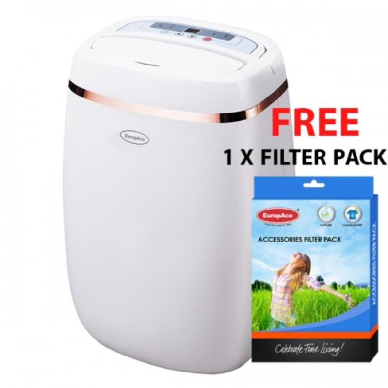 EuropAce 12L Dehumidifier EDH3121S with Free Filter Pack Singapore