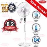 Brand New Europace 16 Stand Fan With 10 Blades And Remote Control Esf 6161T