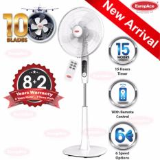 For Sale Europace 16 Stand Fan With 10 Blades And Remote Control Esf 6161T