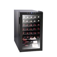 Best Price Ewc 1331S 33 Bottles Wine Cooler W Clear Glass Door