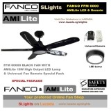 Price Compare Fanco Ffm6000 Led Light N Remote Control