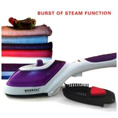 Latest Free Brush Portable Handheld Travel Iron Garment Steamer Handle Steam Brush Iron Travel Ironing Garment Steamer For Clothes 650W 220V