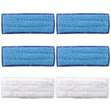 Retail Gpl Keepow 6 Pack Washable Mopping Pads For Irobot Braava Jet 240 241 Included 4 Pcs Wet Pads 2 Pcs Dry Pads Ship From Usa Intl
