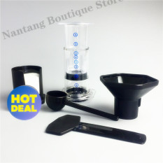 Buy High Quality Portable Filter Coffee Maker China Hao Le Ya Coffee Machine Pot Similar Aeropress 350Pcs Coffee Filter Paper White