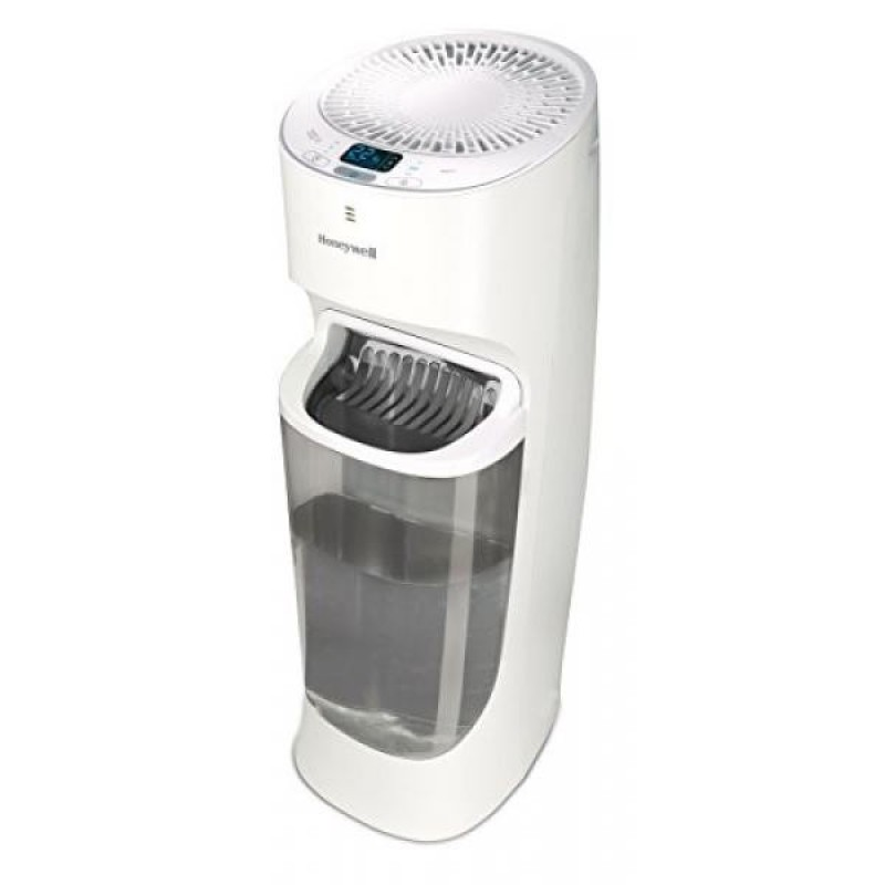 Honeywell Top Fill Tower Humidifier with Digital Humidistat, White - intl Singapore