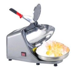 Cheaper Ice Shaver Machine Snow Cone Maker Shaved Icee 143Lbs Electric Crusher Shaving 220V Grey Intl