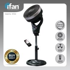 Top Rated Ifan Powerpac 10 Inch Stand Fan Air Circulator With Remote Control If7619