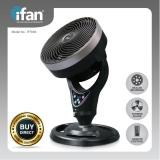 Promo Ifan Powerpac 10 Floor Fan With Whole Room Air Circulator If7656