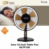 Iona 12 Inch Electric Table Fan Gltf120 1 Year Warranty Iona Discount