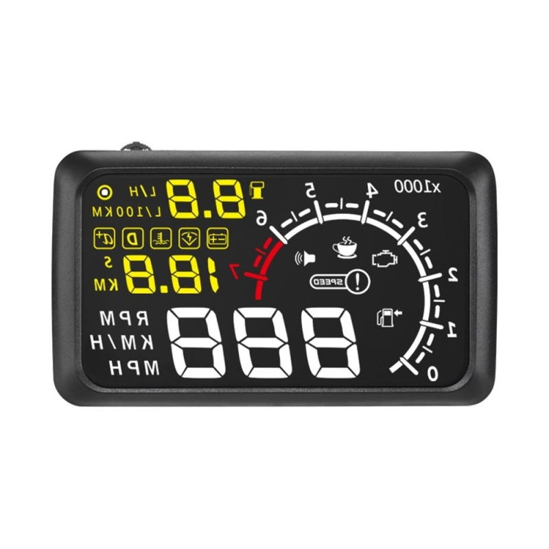 jiaxiang Blin® 5.5 Inch X3 Car Bluetooth HUD Head Up Display Hud Vehicle OBDII Security System Projector Driving Data Monitor - intl Singapore
