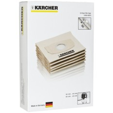 Karcher Mv2 Dust Bag With 5 Paper Filter Bags By Fepl.
