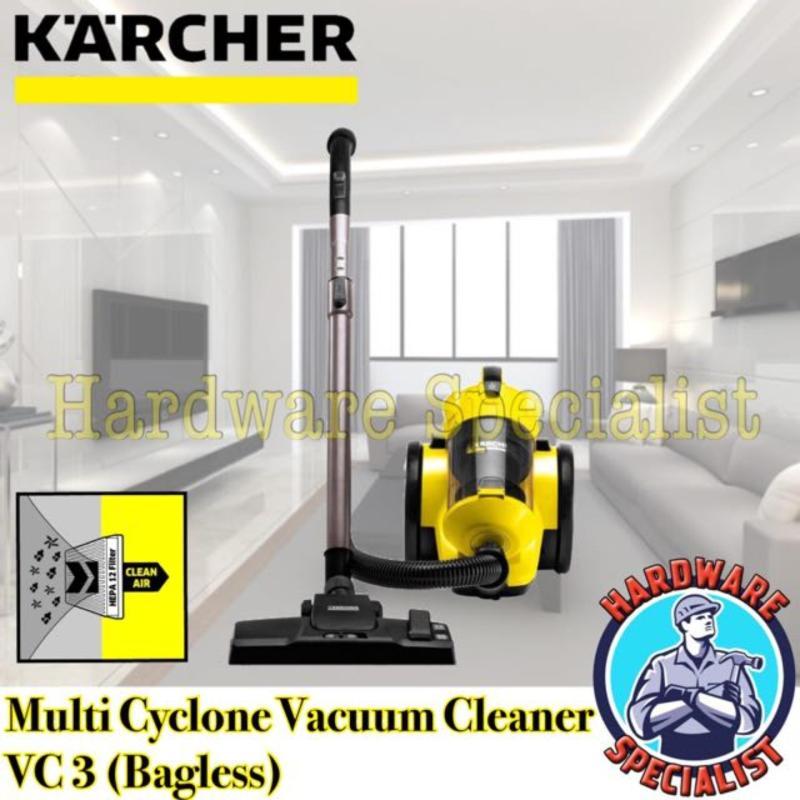 Karcher VC 3 Plus Multi Cyclone Vacuum Cleaner (Bagless) (White Colour) Singapore