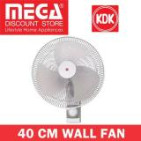 Compare Price Kdk M40Cs 40Cm Wall Fan Metal Blade Gray On Singapore