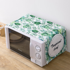 Ju La Casa Printed Microwave Oven Oil Resistant Dust Cover Kitchen Thick Dustproof Cloth Oven Cover Electric Oven Cover By Taobao Collection.