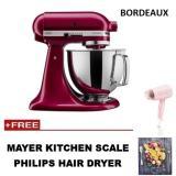 Kitchenaid Ksm150 Stand Mixer With Free Kitchen Scale Hair Dryer Singapore
