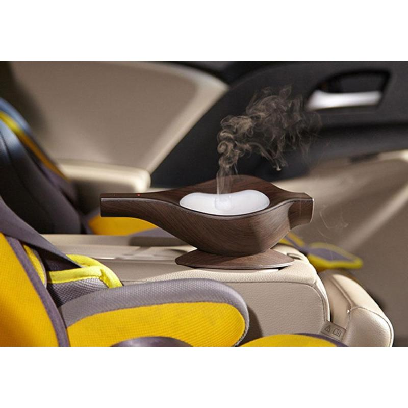 leegoal USB Aromatherapy Essential Oil Diffuser Air Humidifier For Car(Deep Wood) - intl Singapore