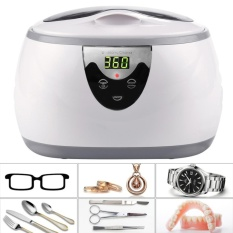 Professional Ultrasonic Polishing Jewelry Cleaner Machine For Cleaning Eyeglasses Watches Rings Necklaces Coins Razors Dentures Combs Tools Parts Instruments Intl Sale