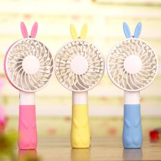 Discount Mf001 Hand Fans Battery Operated Rechargeable Handheld Mini Fan Electric Personal Fans Hand Bar Intl