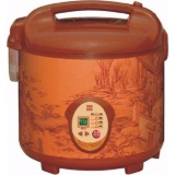 Promo Mikasaki 2 5L Purple Clay Rice Cooker
