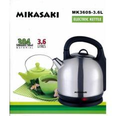Review Mikasaki Mk360S Cordless Kettle Jug 3 6L Mikasaki On Singapore