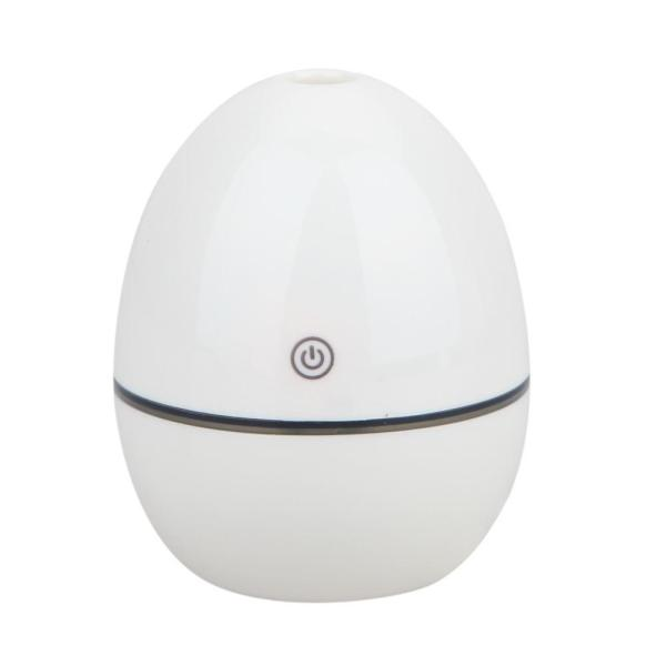 Mini Aromatherapy Portable Bottle Cap Air Ultrasonic Humidifier (White) - intl Singapore