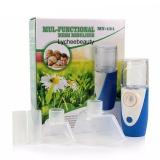 The Cheapest Mini Usb Charger Handheld Nebuliser Respirator Humidifier Household Face Care Blue Intl Online