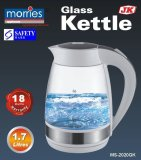 Low Cost Morries Ms 2020Gk Glass Kettle 1 7L 18 Month Warranty Led Light