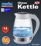 Price Morries Ms 2020Gk Glass Kettle 1 7L 18 Month Warranty Led Light Morries Singapore
