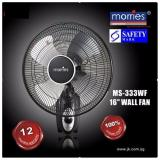 Morries Ms 333Wf 16 Wall Fan Pull String Control Black Review