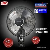 Best Morries Ms 333Wf 16 Wall Fan 12 Month Warranty Al Alloy Fan Blade 100 Copper Motor