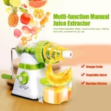 Best Rated Multi Function Manual Fruits Vegetable Juicer Kitchen Fresh Juice Extractor Intl
