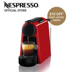 Low Price Nespresso Essenza Mini Coffee Machine Red