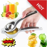 Price Ready To Ship New Manual Fruit Juicer Stainless Steel Lemon Squeezer Baby Juice Press Big Size Oem New