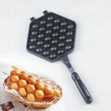 Niceeshop Egg Waffle Pan Non Stick Grill Egg Cake Pan Egg Puff Waffle Maker Double Sided Iron Pressure Pan Black Intl In Stock